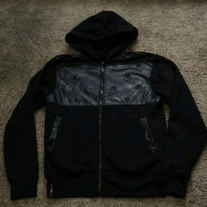 NWOT ENYCE zip up hoodie size M (women's)